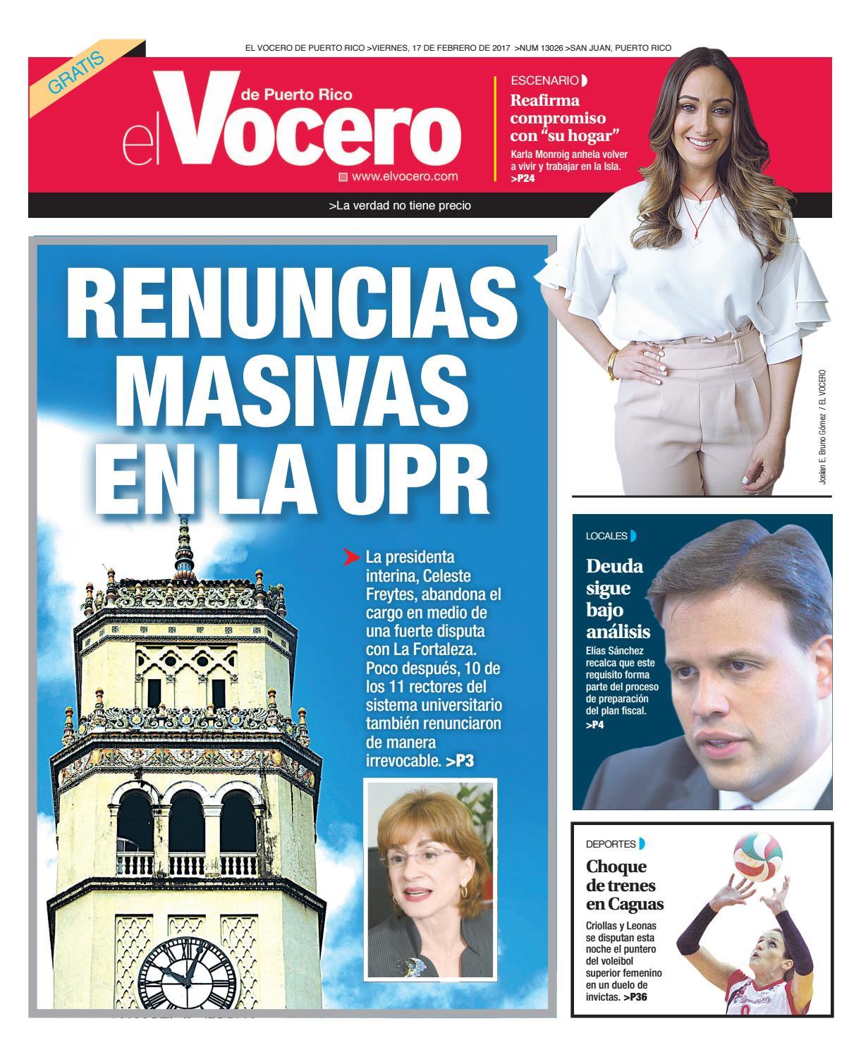 Edici N 6 De Marzo 2017 By El Vocero De Puerto Rico Issuu # Ahorro Muebles Caguas Direccion