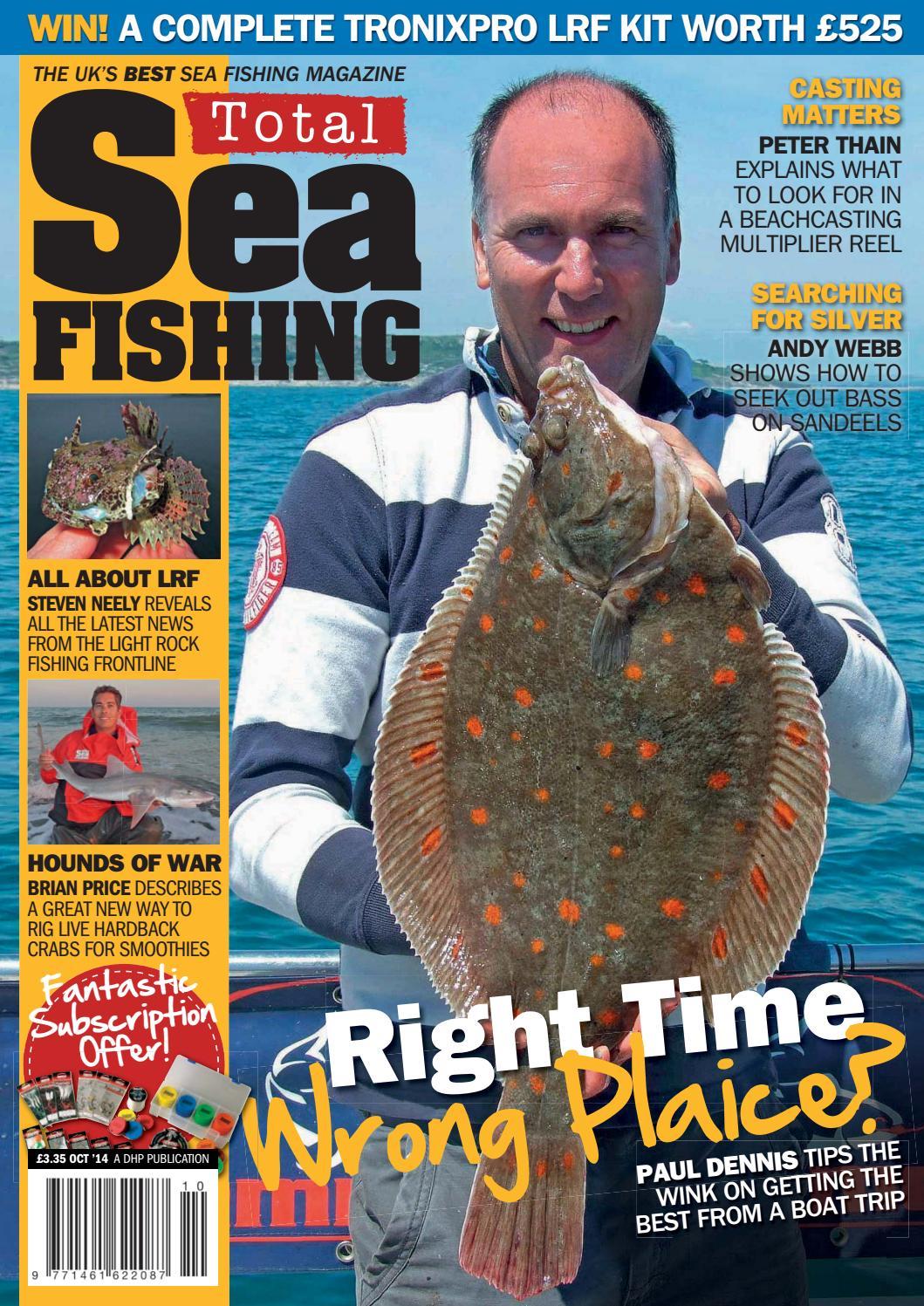 Total sea fishing october 2014 uk by Eugen Robu - issuu