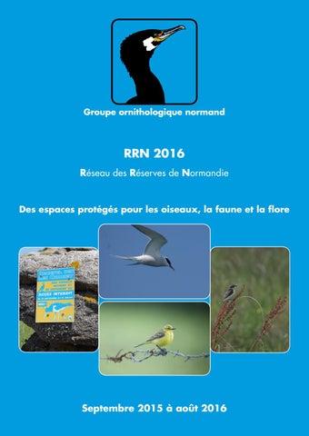 Réseau des Réserves de Normandie 2016 by Association Groupe ... e48e1e53555