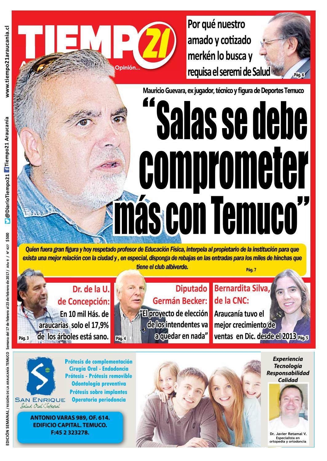 Edici N 427 Mauricio Guevara Salas Se Debe Comprometer M S Con  # Muebles Luz Maria Balmaceda