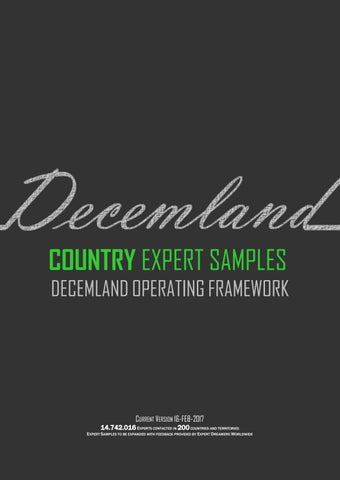 9ef4702c2eb1 Country Expert Samples by Decemland Operating Framework - issuu