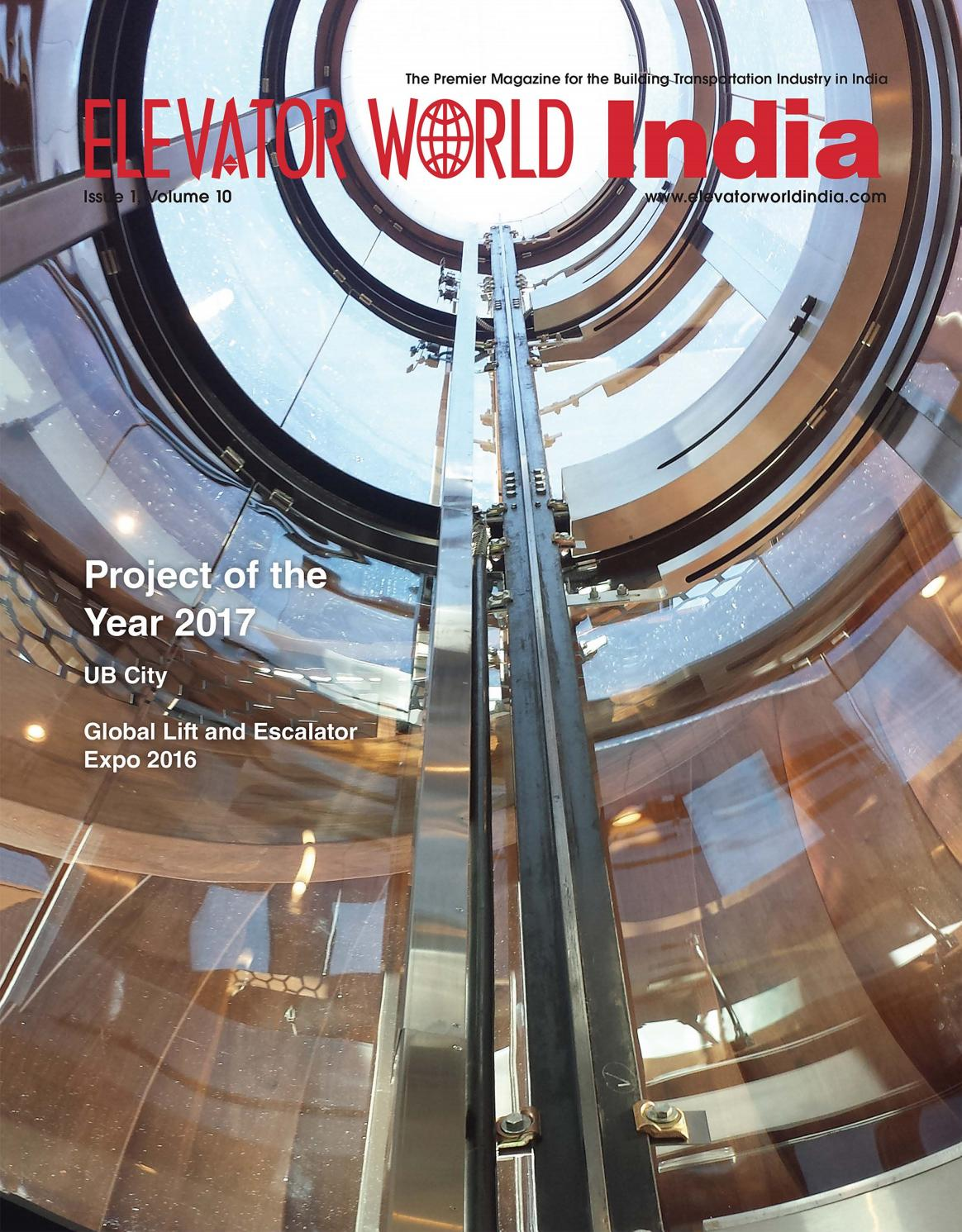 ELEVATOR WORLD INDIA | 1st Quarter by Elevator World - issuu