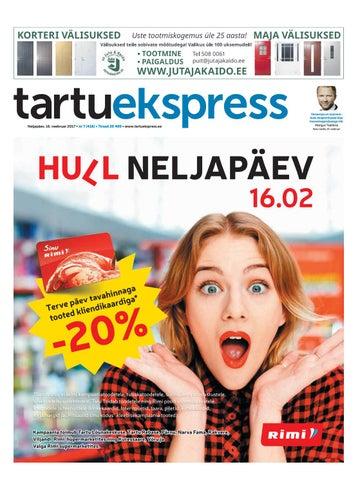 5bdb62c37fd Tartu Ekspress, 16.02.2017 by Tartu Ekspress - issuu