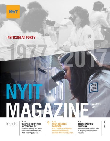 NYIT Magazine Winter 2017 by NYIT Magazine - issuu