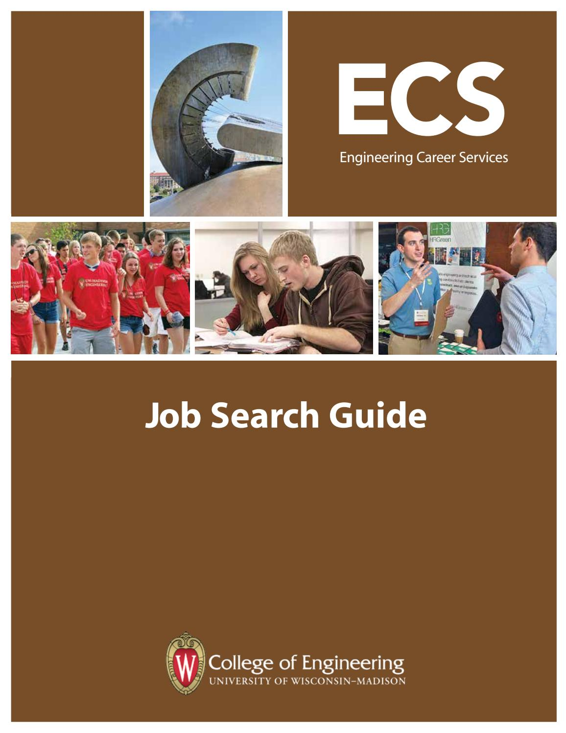 UW-Madison Engineering Career Services Job Search Guide by UW-Madison  College of Engineering - issuu