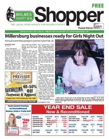 Holmes County Hub Shopper, Feb  18, 2017 by GateHouse Media NEO - issuu