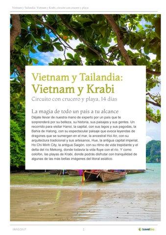 Vietnam y Tailandia  Vietnam y Krabi 4966e9608f3b5