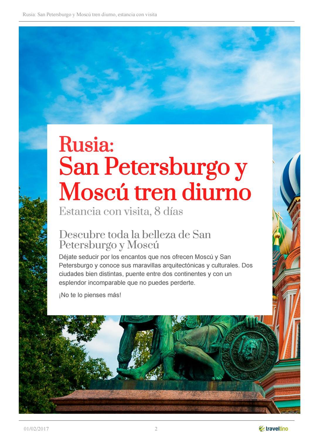 Rusia, san petersburgo y moscú tren diurno (2) by Kerala Viajes - issuu