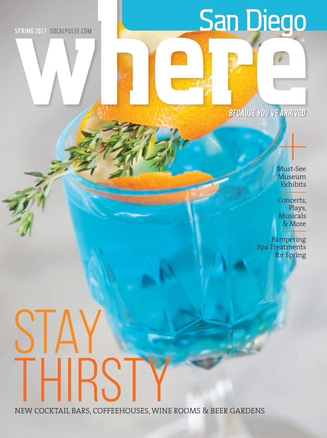 WHERE San Diego Magazine Spring 2017 by SoCalMedia - issuu