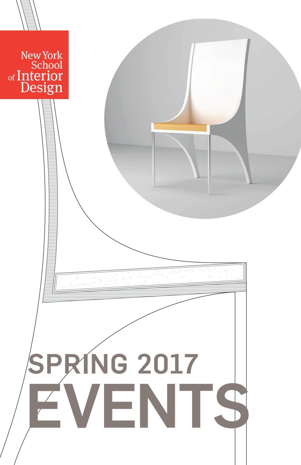 Spring 2017 Events By New York School Of Interior Design
