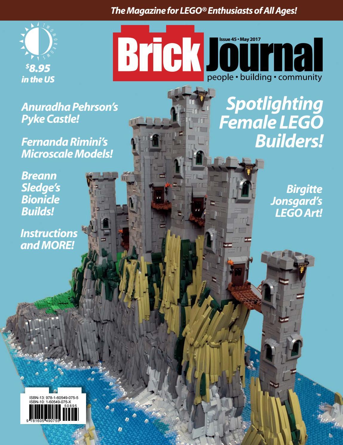 1x6  BLACK PLATE//TILE LEGO ARCHITECTURE BIG BEN 1