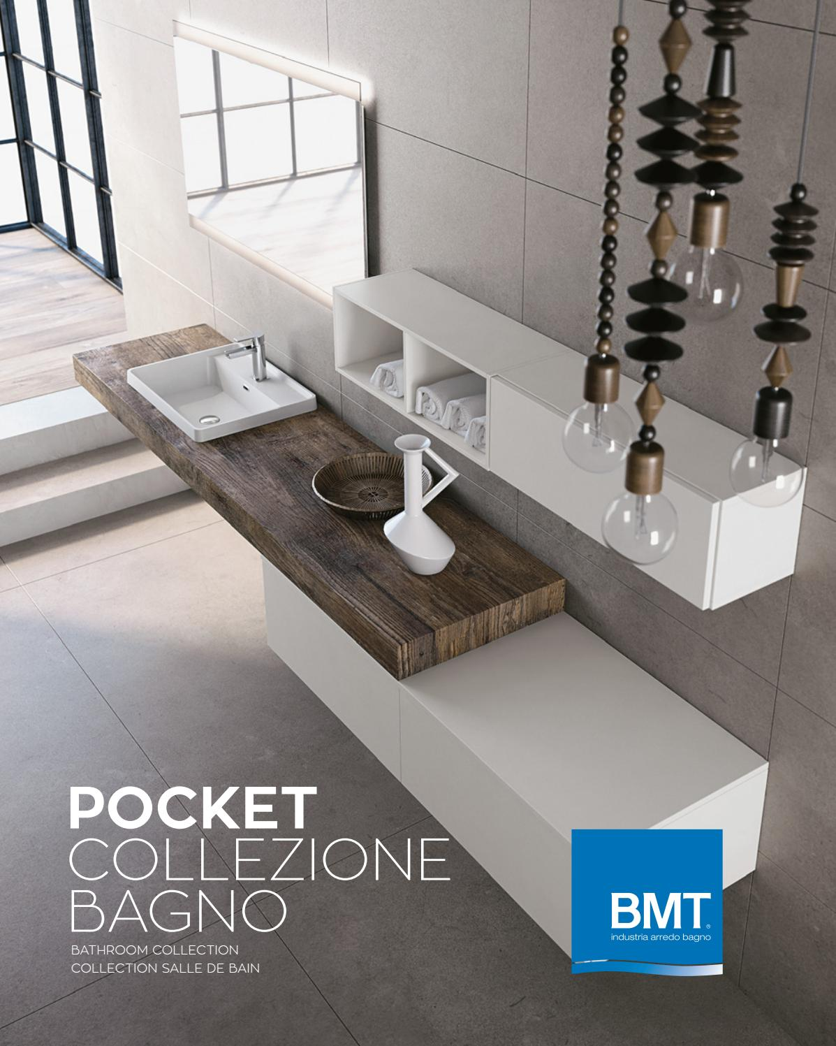 bmt pocket collezione bagno 2017 by bmt bagni issuu