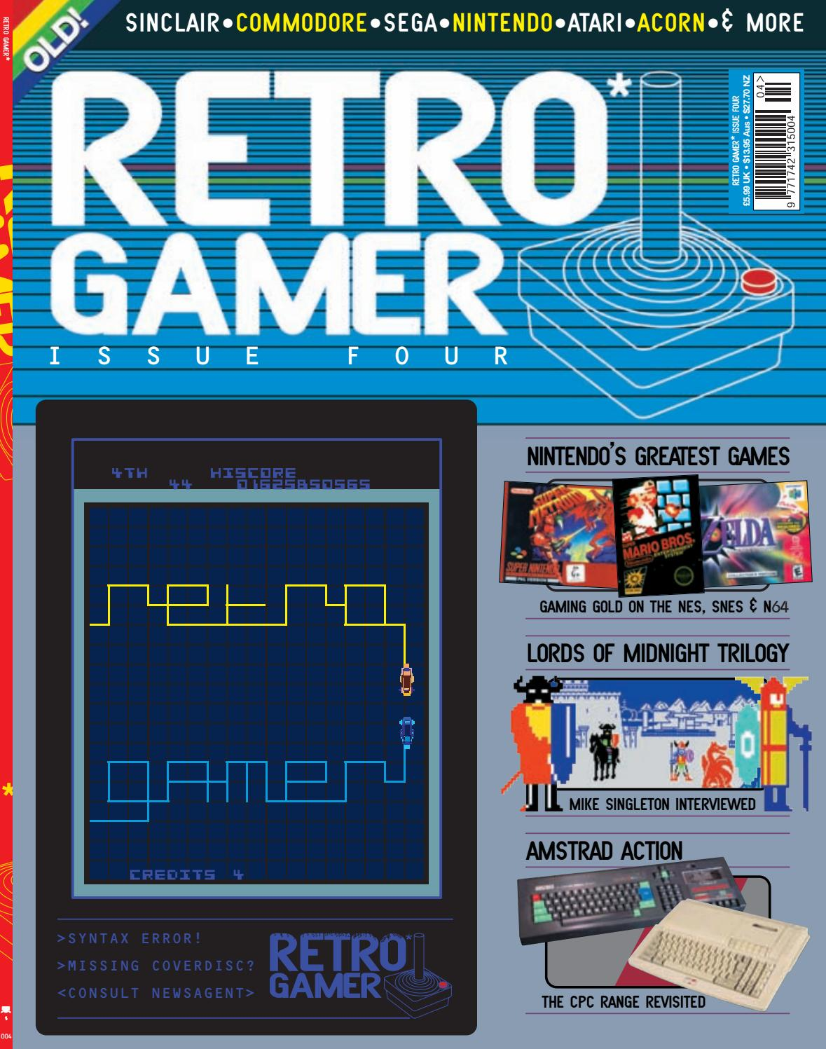 Retro Gamer nº 004 by Revistas Clássicas de Games - issuu