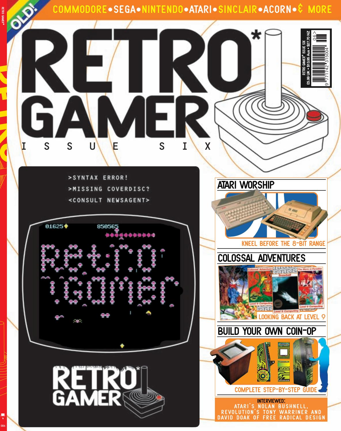 Retro Gamer nº 006 by Revistas Clássicas de Games - issuu