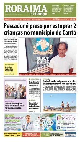 271bb843e9877 Jornal roraima em tempo – edição 562 by RoraimaEmTempo - issuu