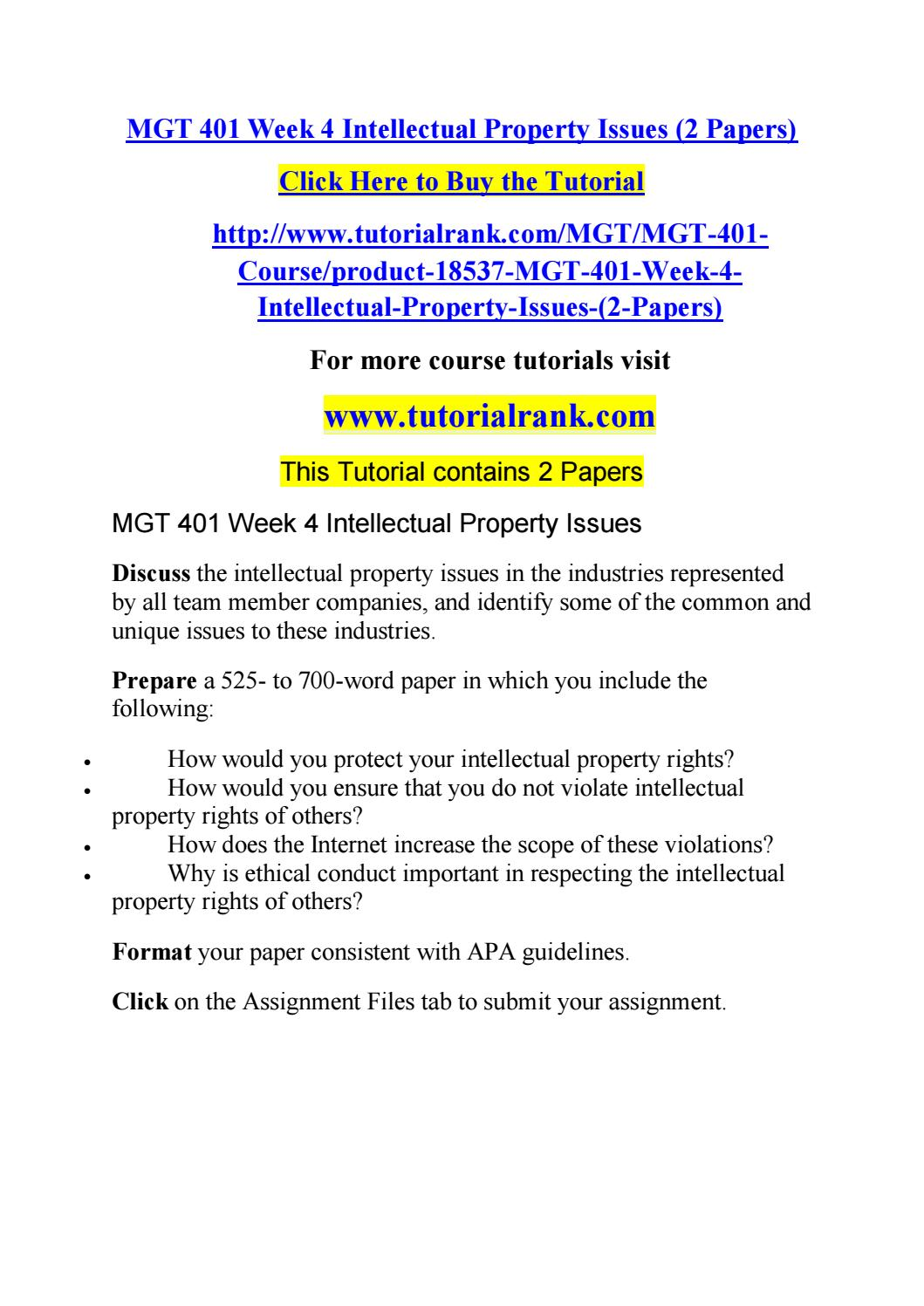 mgt 401 week 2 essay Management principles and responsibilities/organization theory essay  352  words - 2 pages this file includes art 101 week 1 quiz anthropology - general .