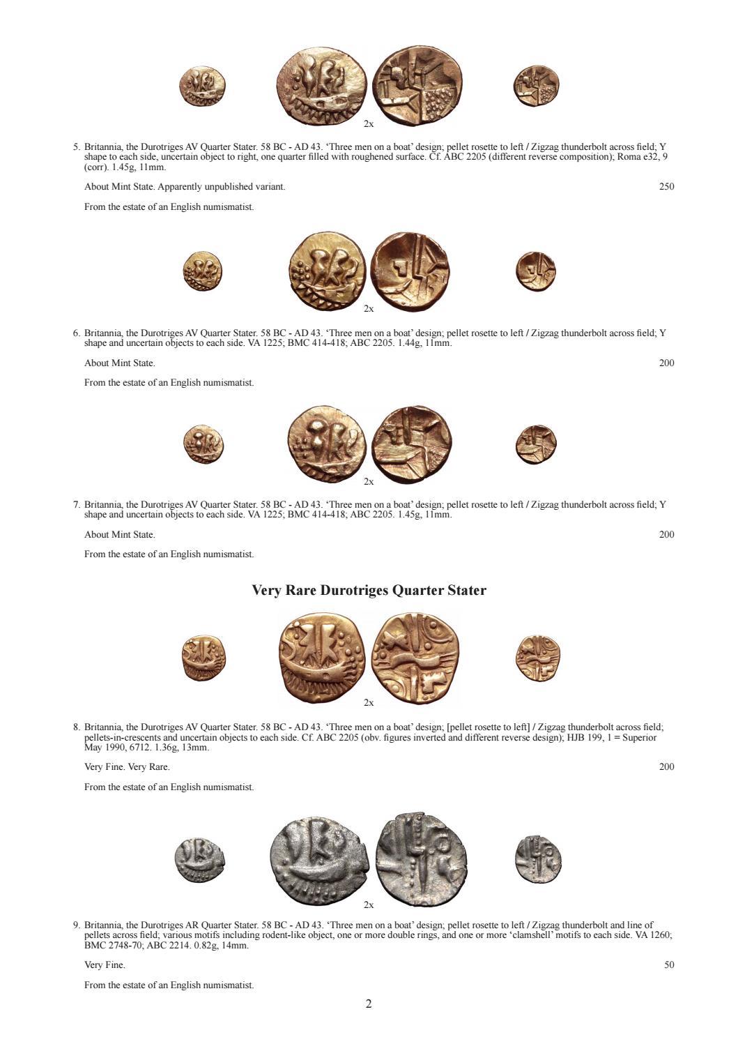 Roma Numismatics Auction XIII by Richard Beale - issuu