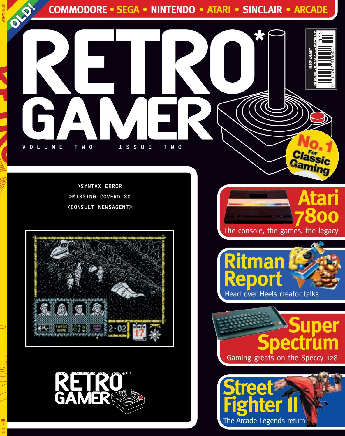 Retro Gamer nº 014 by Revistas Clássicas de Games - issuu