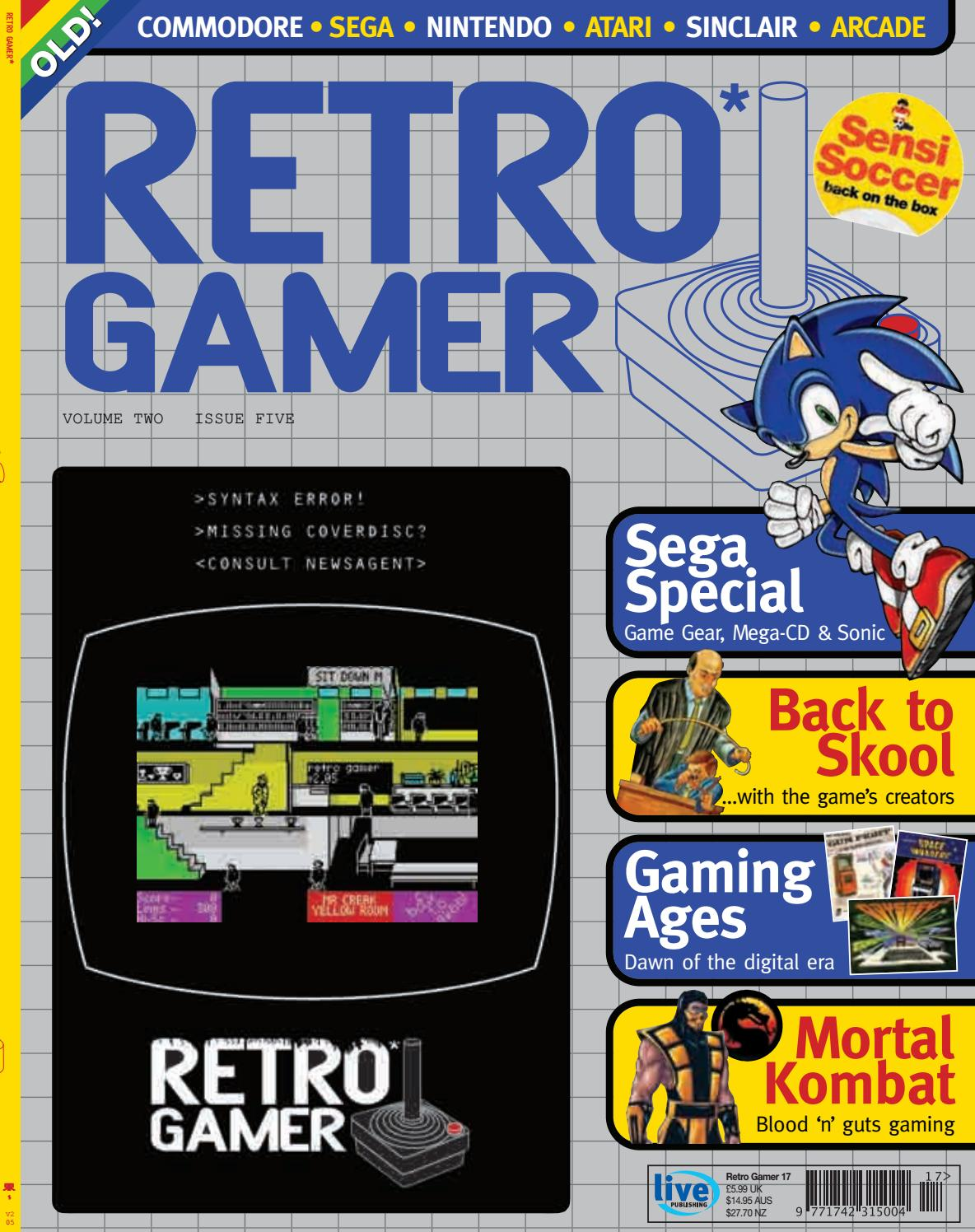 Retro Gamer nº 017 by Revistas Clássicas de Games - issuu