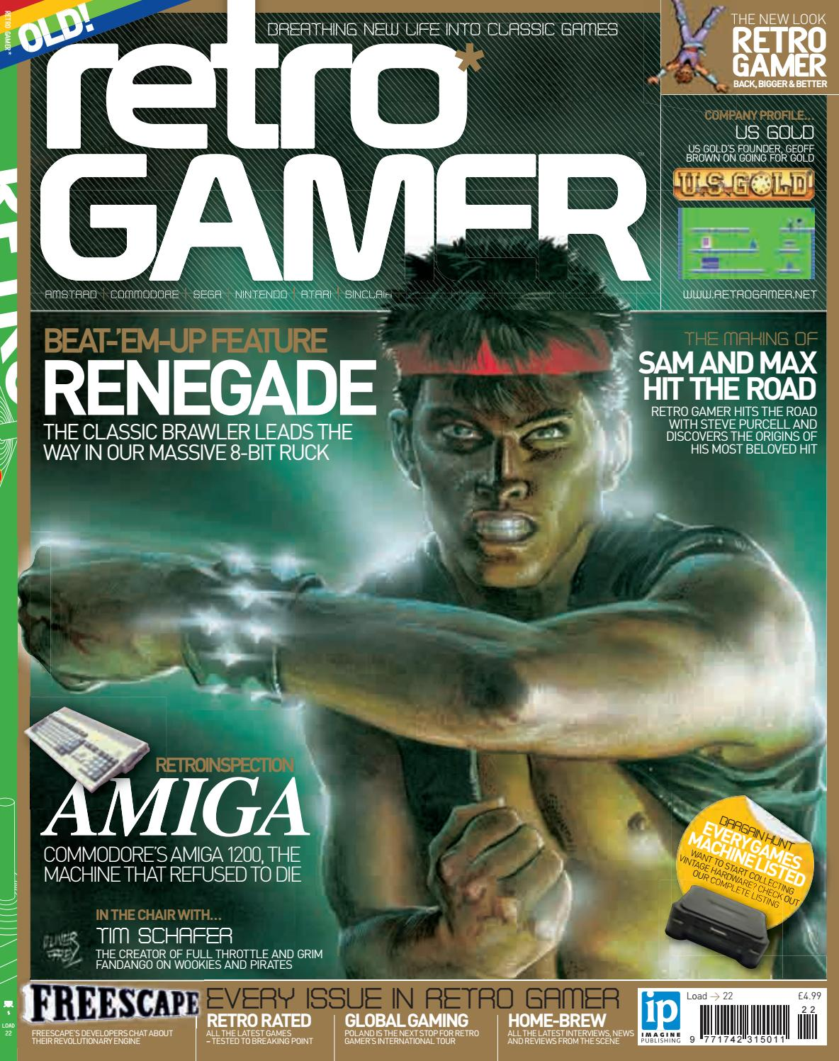 Retro Gamer N 022 By Revistas Clssicas De Games Issuu Complete Vintage 1977 Avalon Speed Circuit Board Game