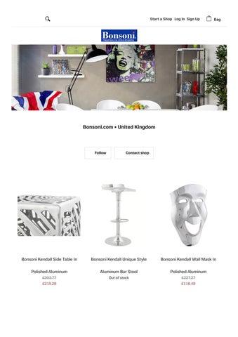 bonsoni kendall catalogue selected version
