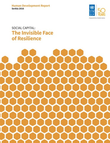 Social Capital The Invisible Face Of Resilience By Centar Za