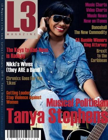 c48d204125d L3 Magazine ft. Tanya Stephens - 2017 - February by L3 Magazine - issuu