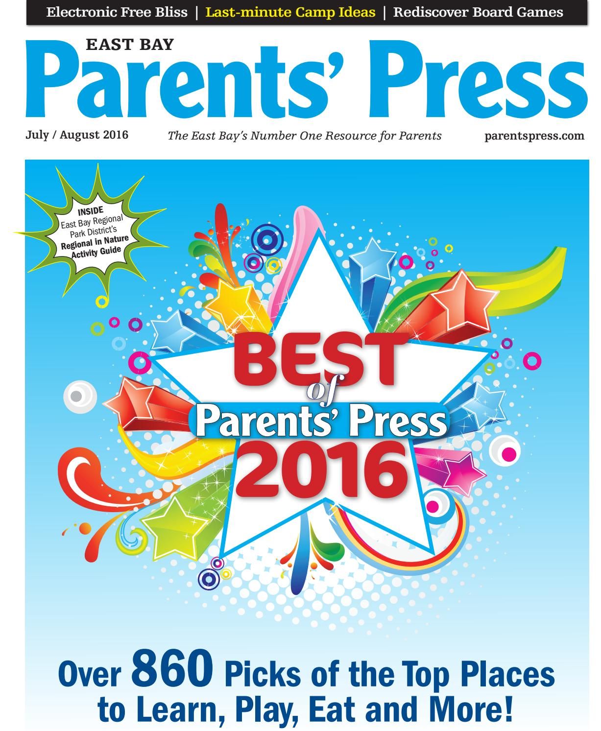 Parents Press July 2016 East Bay by Parenting Media - issuu