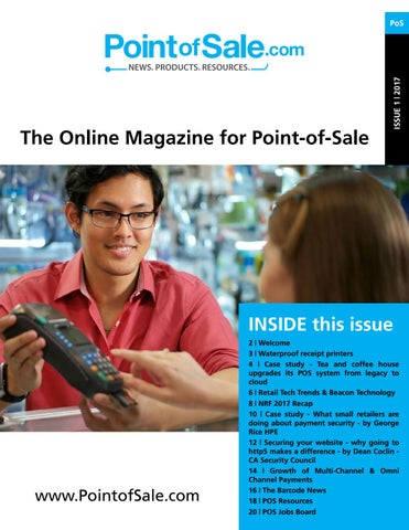 a31d71586225 Point of Sale Magazine by Barcode.com - issuu
