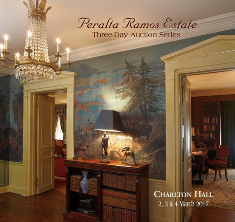 c2e27427d Arturo Peralta Ramos Estate by Charlton Hall Auctioneers - issuu