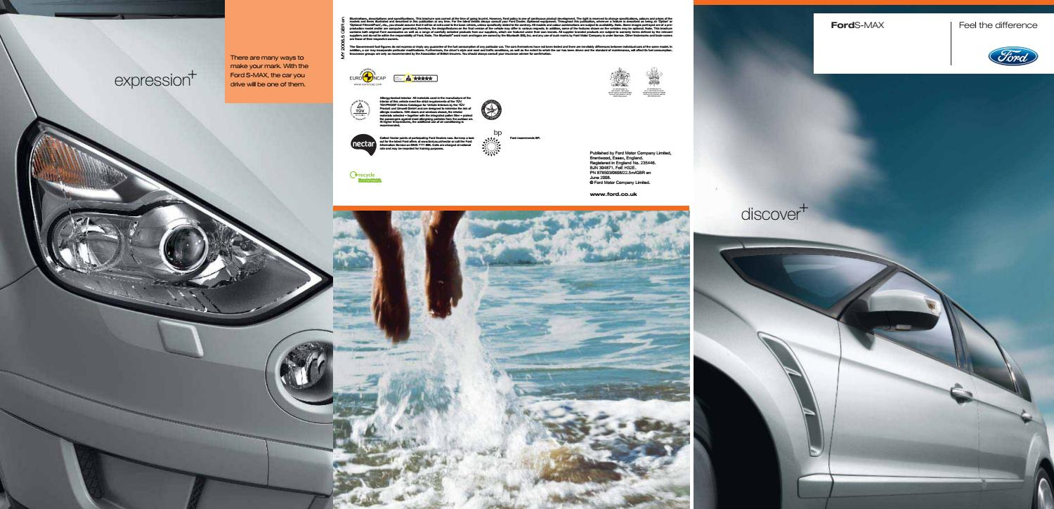 Ford S-Max Brochure 2008 by Mustapha Mondeo - issuu