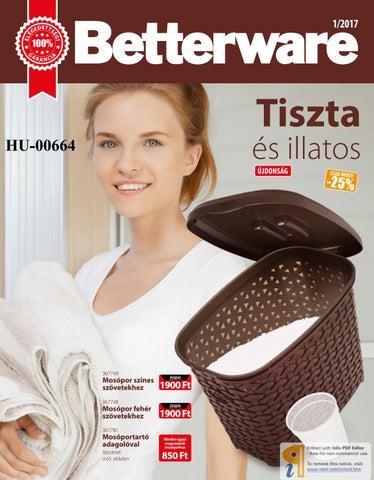 Betterware - 0117- HU-00664 by Gyöngyvér Hévizi - issuu 53ea377a40
