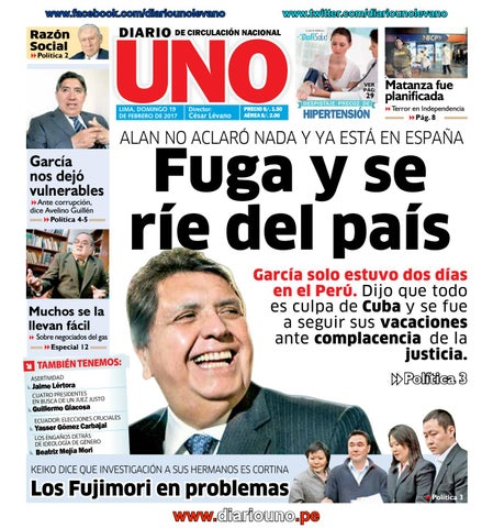 Diario Uno 19 Febrero 2017 By Diario Uno Issuu
