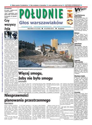 944e29737a Południe Głos Warszawiaków nr 5 z dnia 16 lutego 2017 r by Południe ...