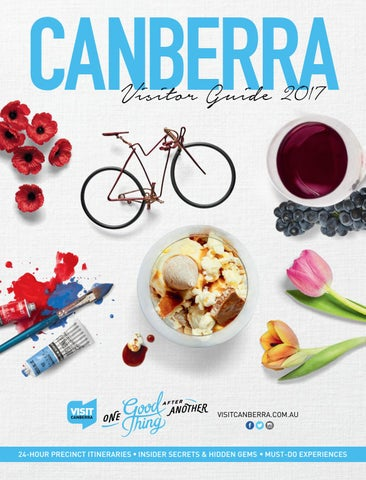 9632bc78d8 Canberra Visitor Guide 2017 by VisitCanberra - issuu