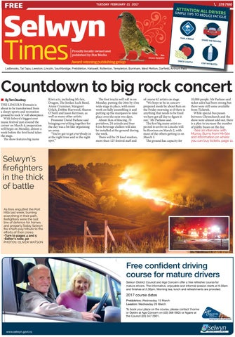 Selwyn Times 21 02 17 By Local Newspapers