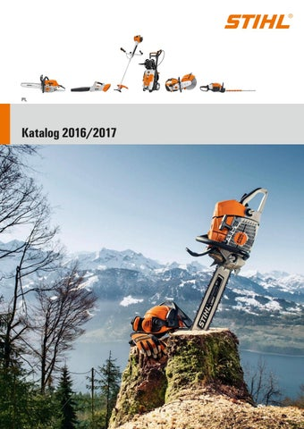 8cdee2aa135c7 Stihl katalog 2016/2017 Polska by Well - issuu