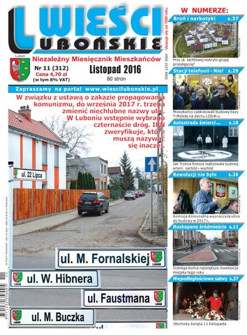 Wieści Lubońskie 201611 By Wiescilubonskie Issuu