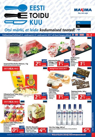 1b33f25bc33 Maxima kliendileht nr.22 by maxima_eesti - issuu