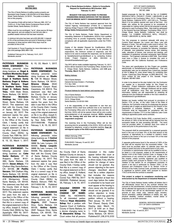 Spotlight on 93108 by Montecito Journal - issuu