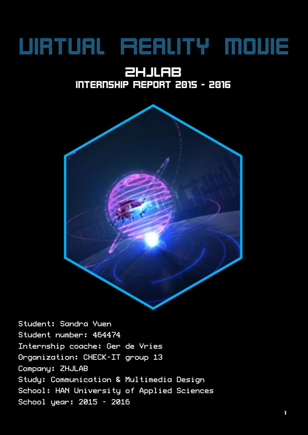 Internship Report by Sandra Yuen - issuu