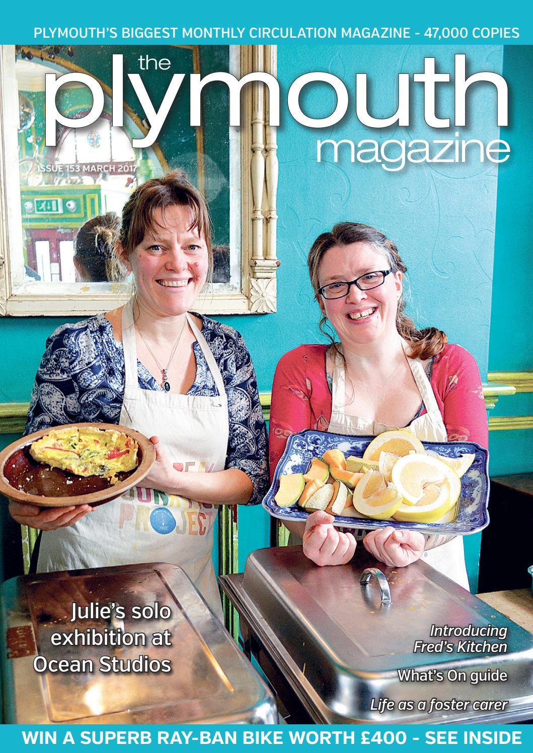 Plymouth Magazine March 2017 by Cornerstone Vision - issuu