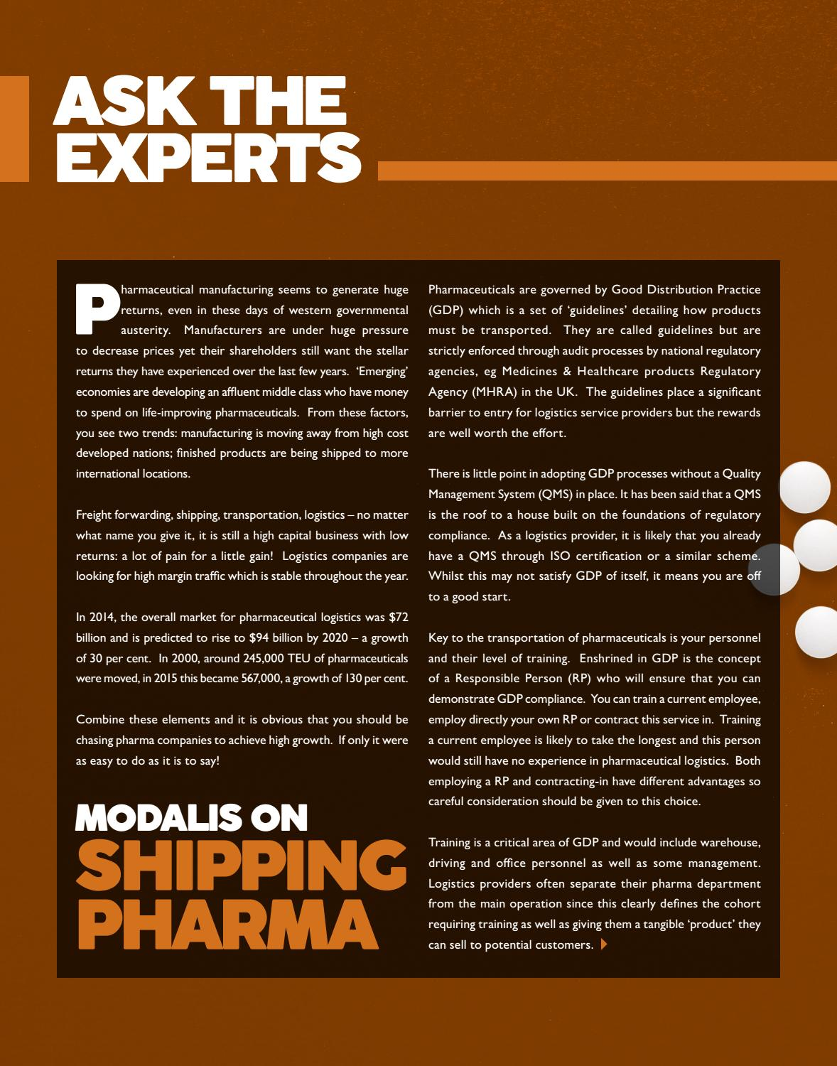 Forwarder magazine January 2017 'Temperature Controlled' by