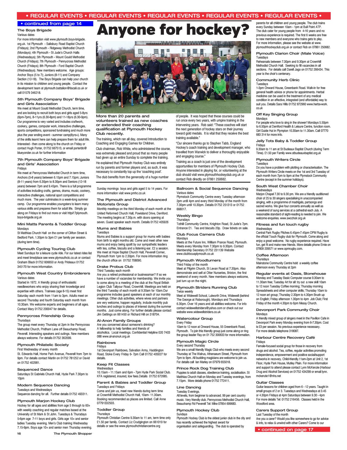 Plymouth Shopper March 2017 By Cornerstone Vision