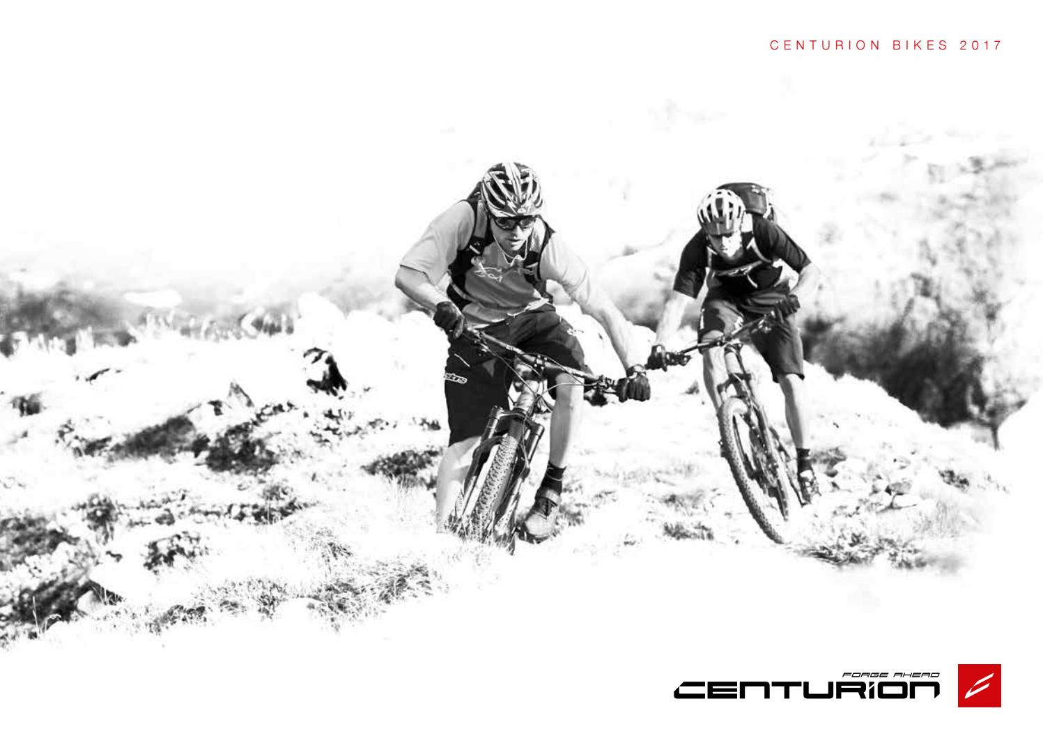 c05ba03ebcd CENTURION BIKES 2017 - english version by MERIDA   CENTURION Germany GmbH -  issuu