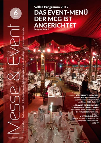 Messe & Event 6/2016 by Messe & Event Magazin - issuu