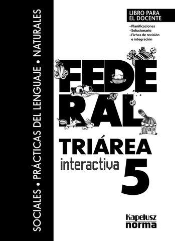 Gd triarea interactivo fed 5 by Kapelusz Norma - issuu