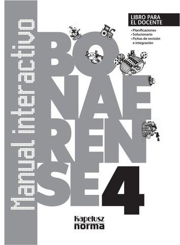 Gd manual interactivo bon 4 by Kapelusz Norma - issuu