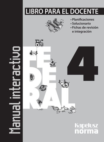 Gd manual interactivo fed 4 by Kapelusz Norma - issuu