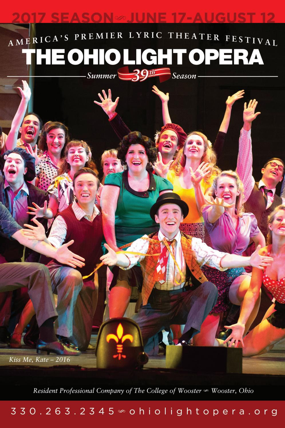 The Ohio Light Opera 2017 Brochure By Live Publishing Issuu